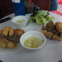 Banh Goi & tasty dip
