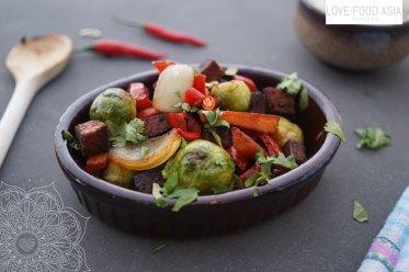 Vegan Thai Stir Fried Veggies