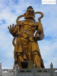Statue am Kek Lok Si Tempel
