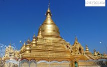 Goldene Stupa in Mandalay