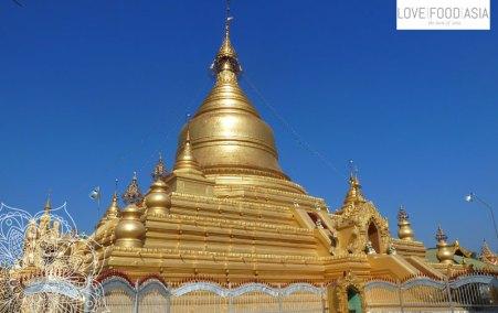 Goldene Stupa in Mandalay
