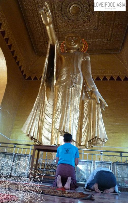 Buddha Statue in Mandalay