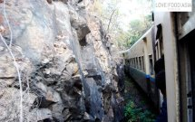 Im Slow Train nach Kalaw
