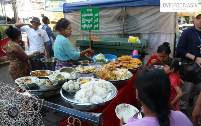 Rangoon Street Food