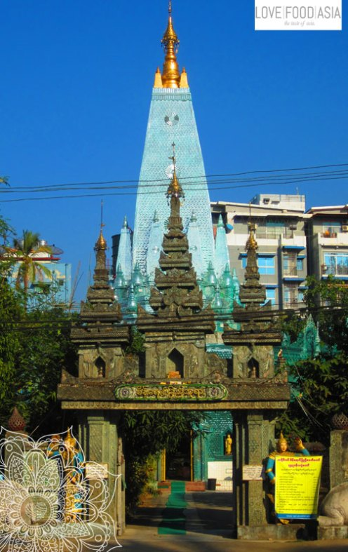 On the streets of Yangon