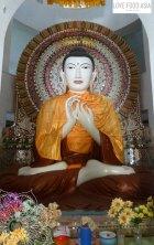 Buddha in der Mountain Monastery