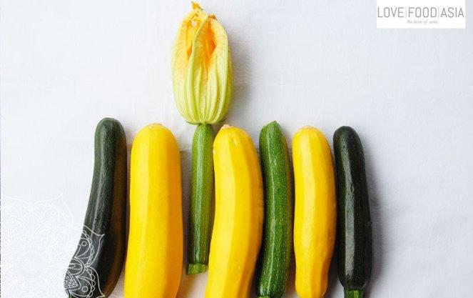 Zucchinis aus unserem Garten