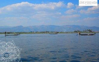 Fischer auf dem Inge See