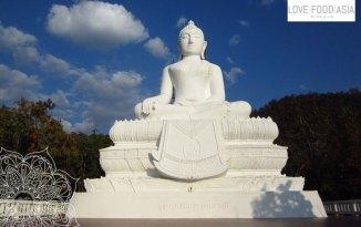 Buddhastatue bei Pai