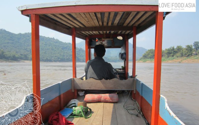 Mein kleines Boot auf dem Mekong