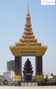 Statue von Norodom Sihanouk