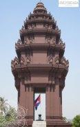 Unahhängihkeitsdenkmal in Phnom Penh