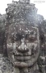 Stone face at the Bayon temple