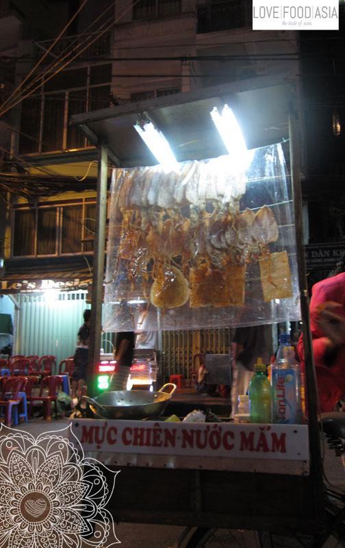 Snacks in Saigon (dried squid)