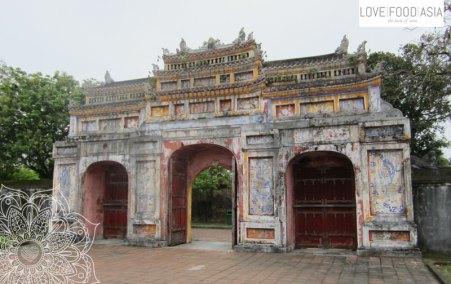 Eine Tor der Zitadelle von Hue
