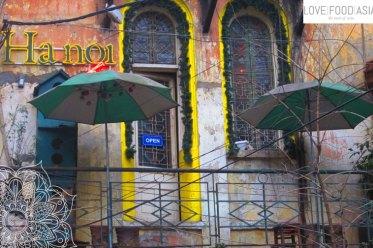 In den Straßen von Hanoi