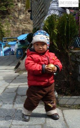Kleiner Junge in Chame
