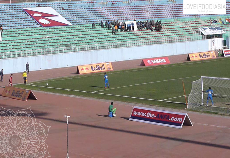 Nepal - India (Soccer Game)