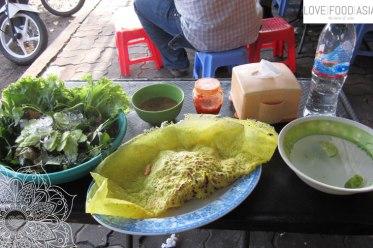 Kambodschanische Pizza
