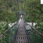 Hängebrücke bei Stams