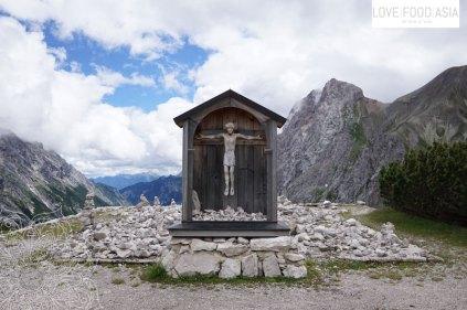 Bildstock in den Bergen
