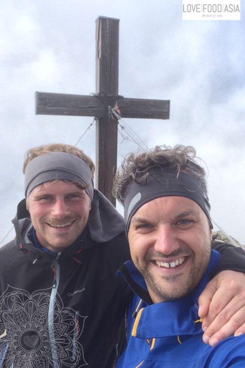 Selfie am Pirchkogel (2.828 m)
