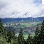 Blick ins Tal und auf Wildermieming