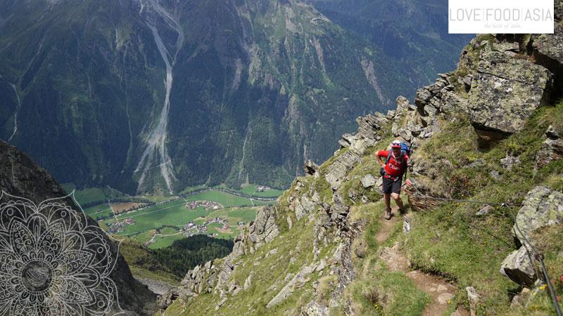 Abstieg nach Längenfeld