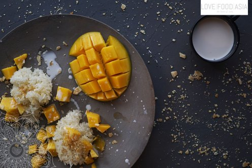 Sweet Sticky Rice Mango
