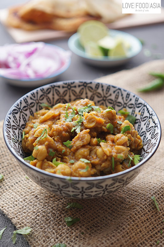 Indian Chickpeas Curry