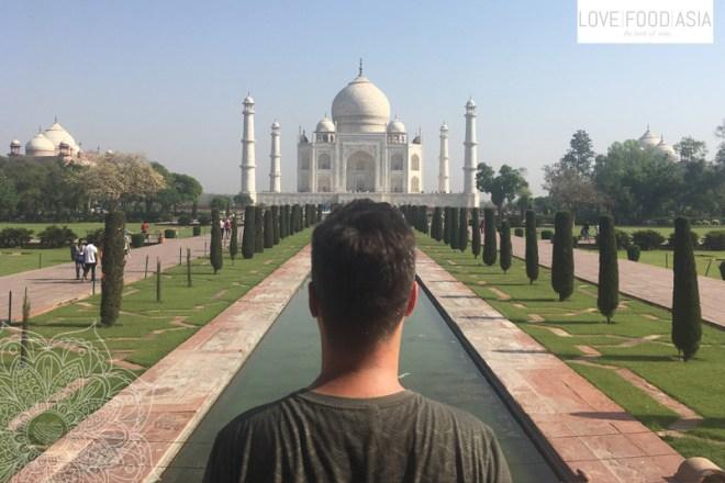 Martin at the Taj Mahal