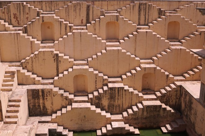 The stepwell of Panna Meena