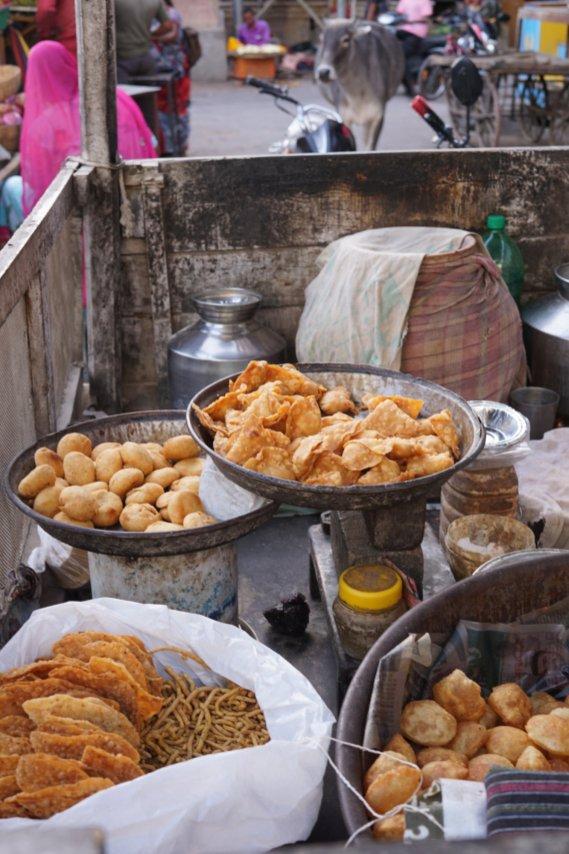 Essen in Pushkar: Kachori