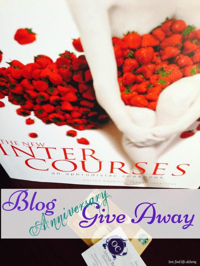 Blog Anniversary Give Away