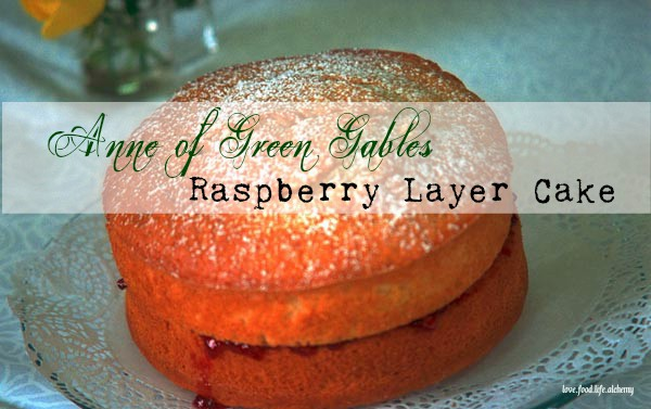 Anne of Green Gables cake