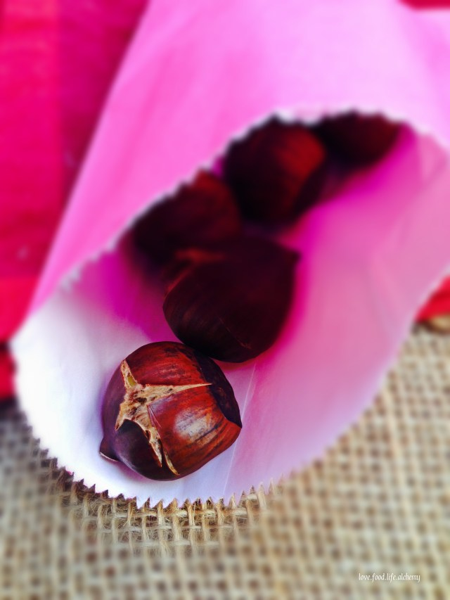 chestnuts in a bag