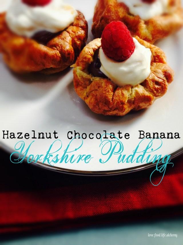 hazelnut chocolate yorkshire pudding