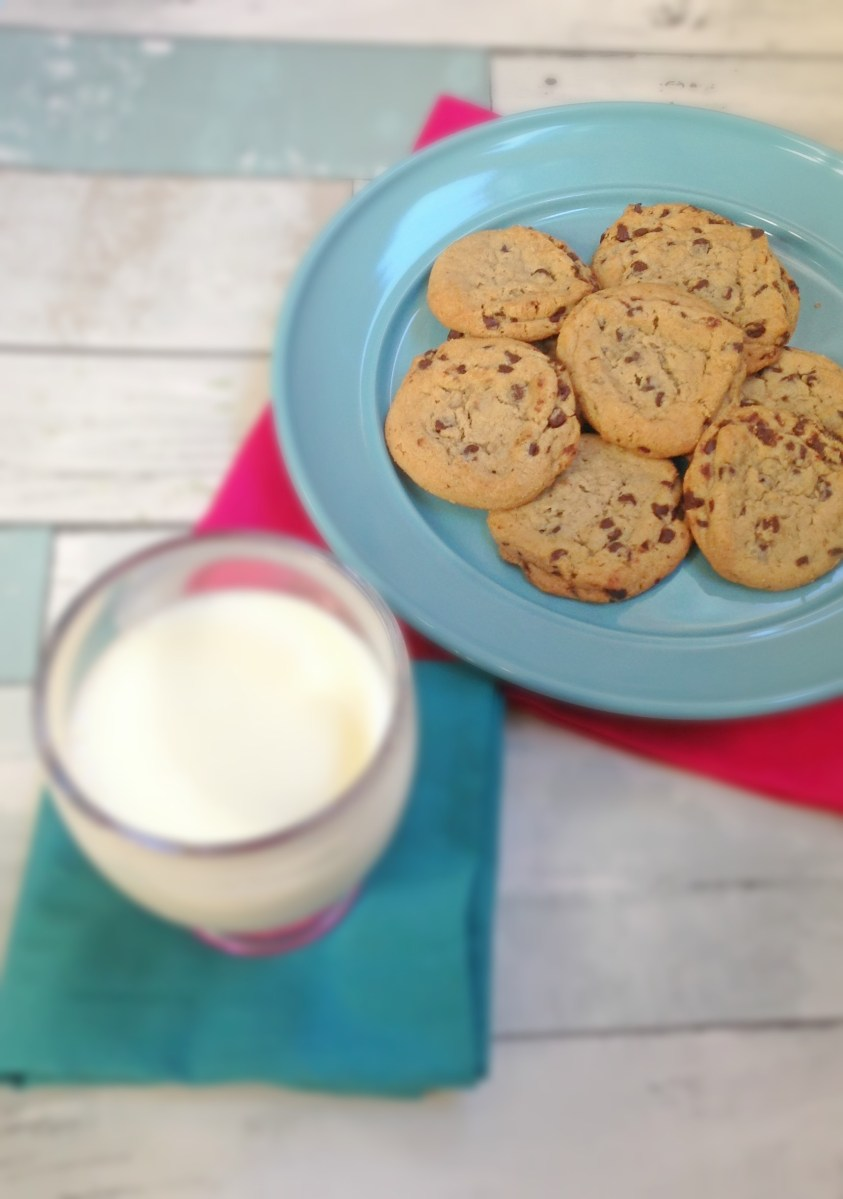 Old Fashioned Chocolate Chip Cookies for Santa