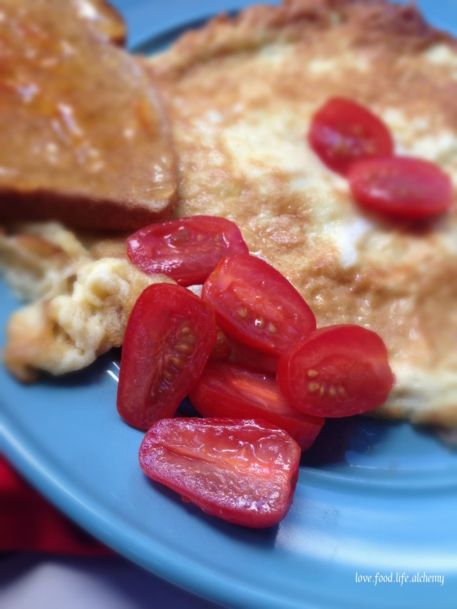cherry-tomatoes-and-omelet