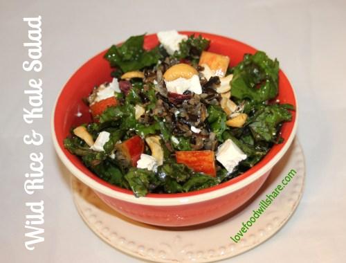 Wild Rice & Kale Salad