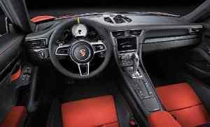 Interior Porsche 911 GT3RS