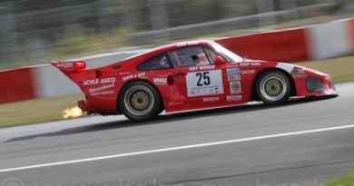 Backfiring Porsche 935 @AvD Oldtimer GP