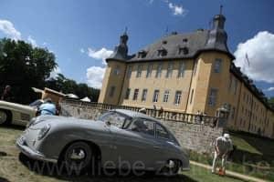 Porsche 356 at Schloss Dyck