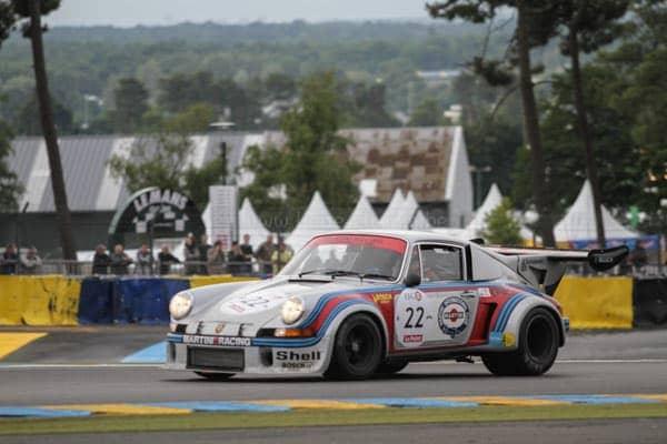 Le Mans Classic porsche 911 carrera rsr turbo 2.1