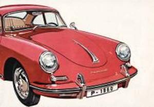 Porsche 356b Brochure
