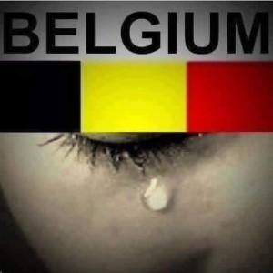 Belgium tears