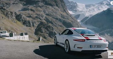 Video new Porsche 911R