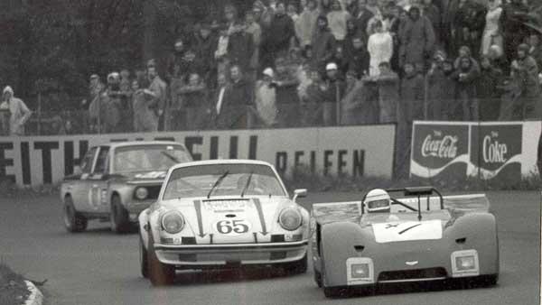 Porsche 911 S/T Nürburgring 1972 (Porsche AG)