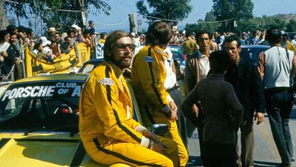 Jürgen Barth Nürburgring 1972 ( Porsche AG)