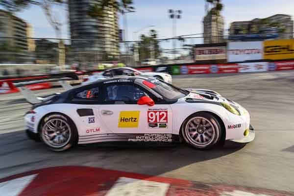 IMSA Weathertech Long Beach Porsche Earl Bamber